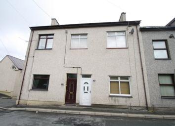 Thumbnail 4 bed terraced house for sale in Carneddi Road, Bethesda, Bangor