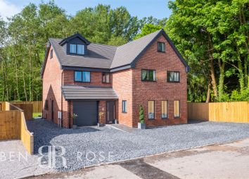 Thumbnail 5 bed detached house for sale in Slater Lane, Leyland