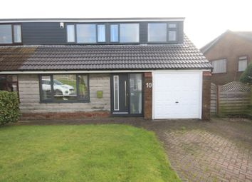 Thumbnail 4 bedroom semi-detached house for sale in Stansfield Drive, Norden, Rochdale, Greater Manchester