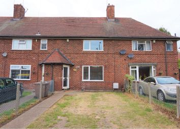 Thumbnail 2 bed terraced house for sale in Western Boulevard, Nottingham