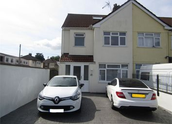 Thumbnail 4 bed end terrace house for sale in Wharnecliffe Gardens, Whitchurch, Bristol