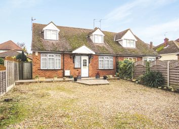 Thumbnail 3 bed bungalow for sale in London Road, Hertford Heath, Hertford