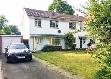 Thumbnail 3 bed semi-detached house to rent in Woodland Close, Southampton