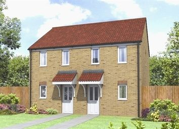 "Thumbnail 2 bedroom terraced house for sale in ""The Morden"" at Station Road, North Hykeham, Lincoln"