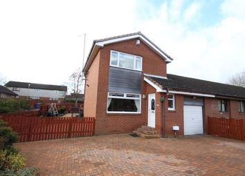 Thumbnail 3 bed link-detached house for sale in Auchinleck Gardens, Robroyston, Glasgow, Lanarkshire