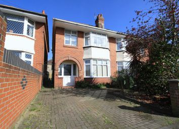 Thumbnail 3 bedroom semi-detached house for sale in King Georges Avenue, Southampton