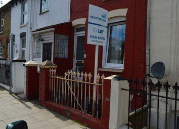 Thumbnail 1 bedroom flat to rent in Gardiner Street, Gillingham