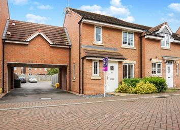 Thumbnail 3 bedroom end terrace house for sale in Skye Close, Peterborough