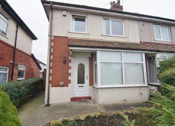 Thumbnail 3 bed semi-detached house to rent in Preston New Road, Freckleton, Preston