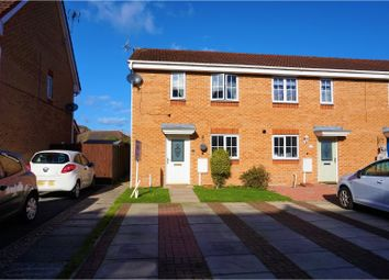 Thumbnail 3 bed end terrace house for sale in Broughton Close, Alfreton