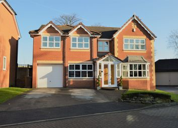 Thumbnail 5 bed detached house for sale in Woodthorpe Court, Prestwich, Manchester