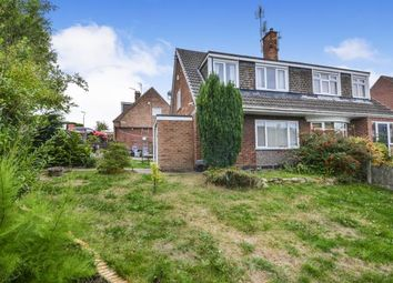 Thumbnail 3 bed semi-detached house for sale in Ling Forest Close, Mansfield, Nottinghamshire