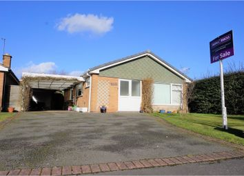 Thumbnail 3 bed detached bungalow for sale in Adlington Road, Oadby