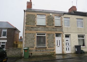 Thumbnail 3 bed end terrace house for sale in Chesterfield Street, Barry
