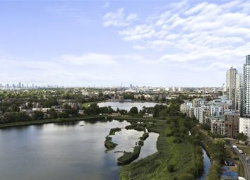 Thumbnail 3 bed flat for sale in Skylark Point, Newnton Close, London