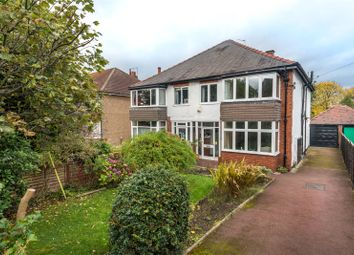 Thumbnail 3 bed semi-detached house for sale in North Park Avenue, Leeds, West Yorkshire