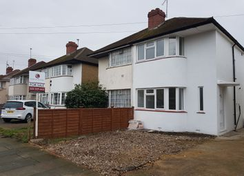 Thumbnail 3 bed semi-detached house for sale in Longford Avenue, Feltham
