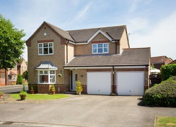 Thumbnail 4 bedroom detached house for sale in Thompson Drive, Strensall, York