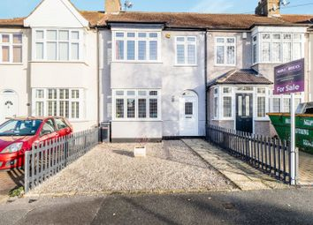 Thumbnail 3 bed terraced house for sale in Stanley Road, Hornchurch