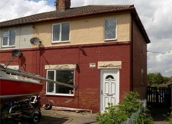 Thumbnail 2 bed semi-detached house to rent in Churchfields, Creswell, Worksop, Nottinghamshire