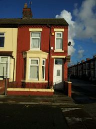 Thumbnail 3 bed terraced house to rent in Cambridge Road, Bootle
