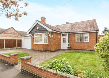 Thumbnail 2 bed detached bungalow for sale in Triumph Road, Glenfield, Leicester