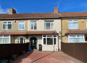 Thumbnail 3 bed terraced house for sale in Broomhill Road, Bristol
