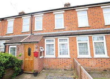 Thumbnail 3 bed terraced house for sale in Station Road, Claydon, Ipswich, Suffolk