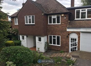 Thumbnail 4 bed detached house to rent in Silverdale Avenue, Oxshott