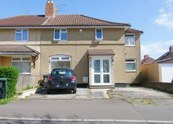 Thumbnail 3 bed semi-detached house for sale in Wellgarth Road, Knowle, Bristol