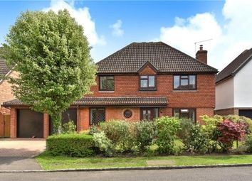 Thumbnail 4 bed detached house for sale in Forbes Chase, College Town, Sandhurst