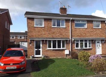 Thumbnail 3 bed semi-detached house for sale in Portland Grove, Crewe, Haslington, Cheshire