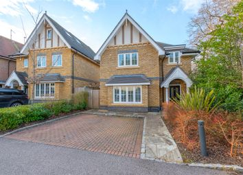 Thumbnail 4 bed detached house for sale in Meadows Drive, Camberley