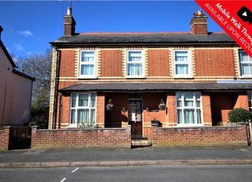 Thumbnail 2 bed semi-detached house for sale in Moorlands Road, Camberley, Surrey