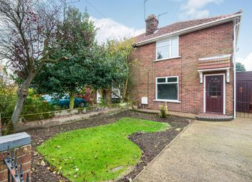 Thumbnail 4 bedroom semi-detached house for sale in Cromwell Road, Sprowston, Norwich