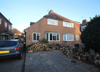 Thumbnail 4 bed semi-detached house for sale in Bruce Avenue, West Worthing, West Sussex