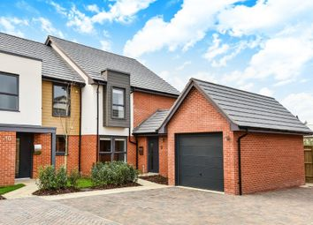Thumbnail 4 bed end terrace house for sale in Redfields Meadow, Church Crookham, Fleet.