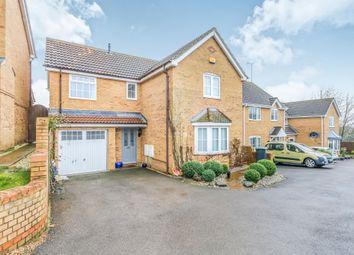Thumbnail 4 bedroom detached house for sale in Larkin Gardens, Higham Ferrers, Rushden