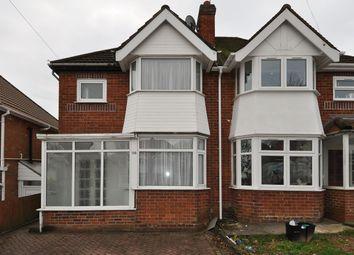 Thumbnail 3 bedroom semi-detached house for sale in Farren Road, Birmingham