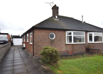 Thumbnail 2 bed semi-detached bungalow for sale in Toft End Road, Newcastle-Under-Lyme
