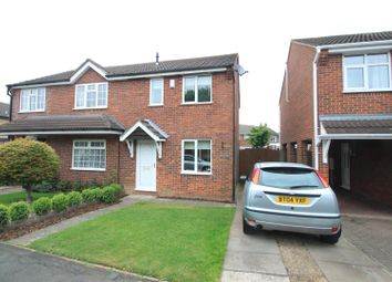 Thumbnail 2 bed semi-detached house for sale in Trent Road, Hinckley