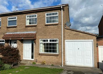 Thumbnail 3 bed semi-detached house for sale in Lindwall Court, Worksop, Nottinghamshire
