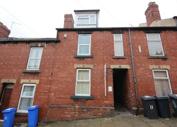 Thumbnail 5 bed terraced house to rent in Rosa Road, Crookesmoor, Bills Included