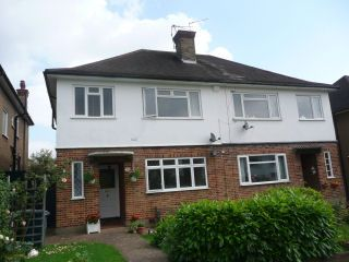 Thumbnail 2 bed flat to rent in Holwell Place, Pinner