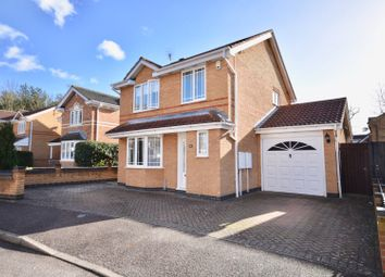 Thumbnail 3 bed detached house for sale in Donne Close, Kettering