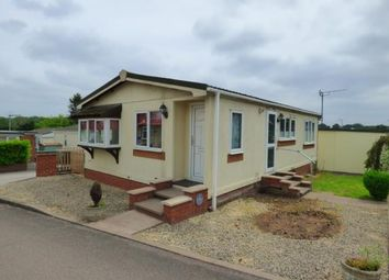 Thumbnail 2 bed mobile/park home for sale in Stationfields, Tamworth, Staffordshire
