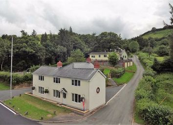 Thumbnail 4 bedroom detached house for sale in Minffordd, Cemmaes Road, Machynlleth, Powys