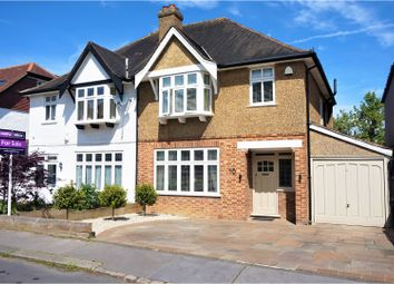Thumbnail 3 bed semi-detached house for sale in Sandy Way, Croydon