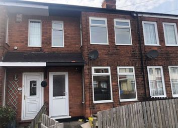 Thumbnail 2 bed terraced house to rent in Southburn Avenue, Spring Bank West, Hull