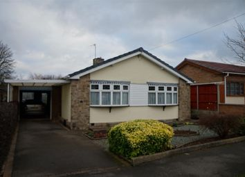 Thumbnail 2 bed detached bungalow for sale in Maytree Drive, Kirby Muxloe, Leicester